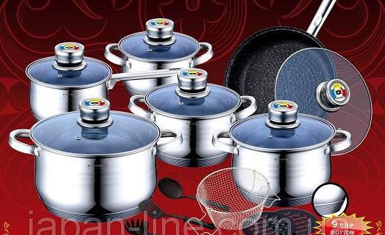 Набор посуды 18 предметов Vissner VS 1852 M