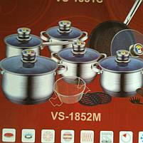 Набор посуды 18 предметов Vissner VS 1852 M, фото 3