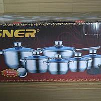 Набор посуды 18 предметов Vissner VS 1852 M, фото 5