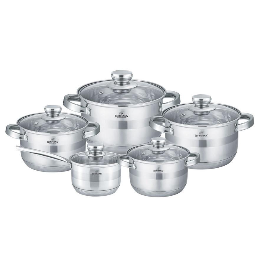 Набор посуды Bohmann BH 1275-10 10 предметов