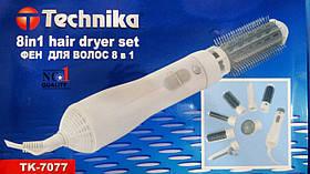 Стайлер для укладки волос 8 в 1  Technika TK 7077