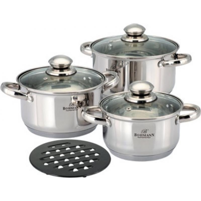 Набор посуды Bohmann BH-0907 7 пр.