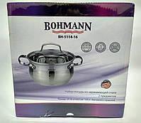 Кастрюля с крышкой Bohmann BH 5114-16, фото 9