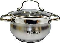 Кастрюля с крышкой Bohmann BH 5114-16, фото 10