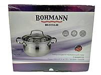 Кастрюля с крышкой Bohmann BH 5114-20, фото 7