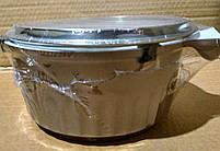 Ковш с керамичным покрытием Peterhof PH-15756-16 brown 1,3 л, фото 7