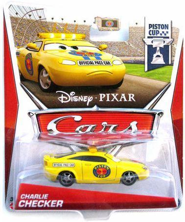 Тачки: Чарли Чекер (Charlie Checker) Disney Pixar Cars от Mattel