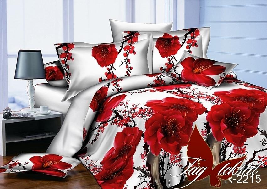 Полуторный комплект постельного белья - ранфорс R2215