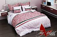 Полуторный комплект постельного белья - ранфорс R4053