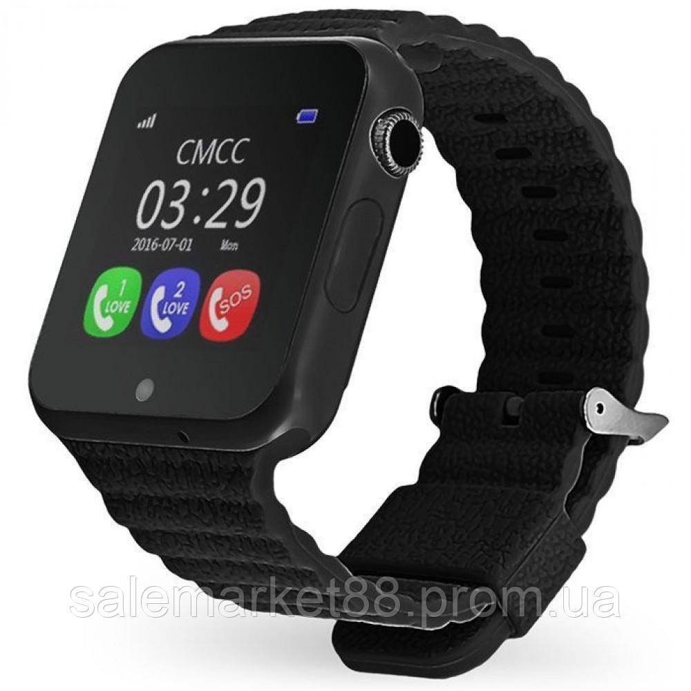 Детские наручные смарт-часы Smart Watch V7K Черные