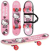 Детский скейт HK 0052 Hello Kitty (60х15см)