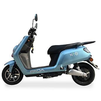 Электрический скутер FADA NiO Бирюзовый