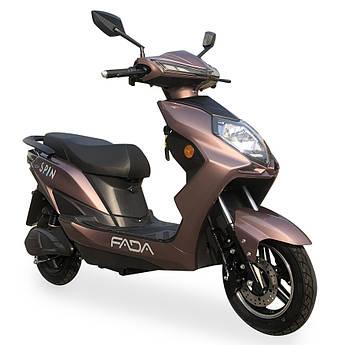 Электрический скутер FADA SPiN Бронзовый