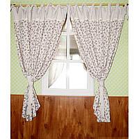 Элитные шторы  Прованс Lilac rose. 2 размера