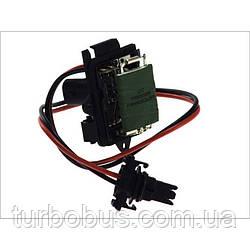 Реостат/Резистор вентилятора печки Trafic/Vivaro 01>, с кондиционером. Akkussan TR1125