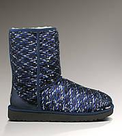 Угги UGG Australia (Угги Оригинал) Classic Short Sparkles Blue. Model: 5825