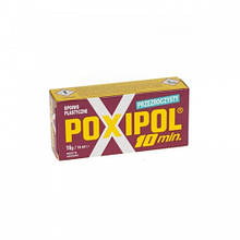 Клей епоксидний POXIPOL прозорий 16g/14ml