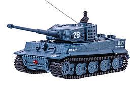 Танк мікро р/к 1:72 Tiger зі звуком (сірий)