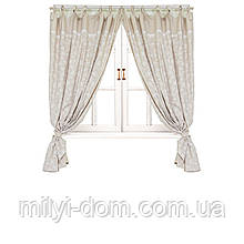 Элитные шторы  Прованс Белая роза. разные размеры