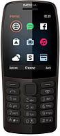 Nokia 210 Dual Sim 16OTRB01A02) Black