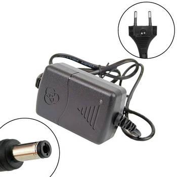 Блок питания, сетевой адаптер 12В 2А 5.5x2.1мм 5.5x2.5мм CCTV Arduino