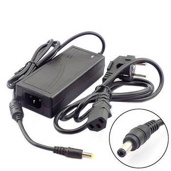 Блок питания, сетевой адаптер 12В 6А, 5.5x2.1мм 5.5x2.5мм + кабель