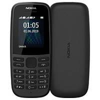 Nokia 105 DS 2019 (16KIGB01A01)  Black