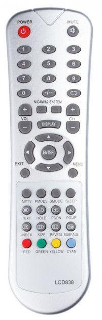 Пульт для телевізора Nokasonic LCD 838