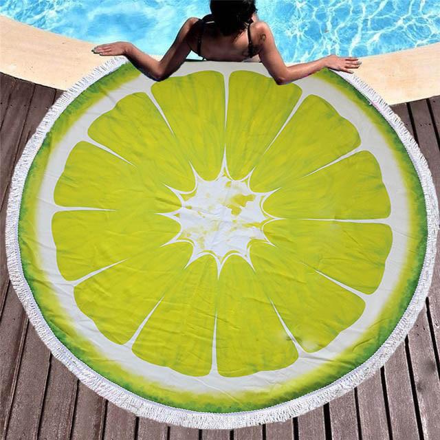 Пляжный коврик Лайм Sport Line - №5500