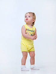 Песочник желтого цвета Фламинго для девочки, SMIL