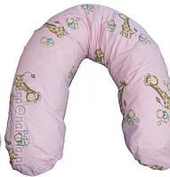 Подушка для кормления, для берменных, хлопок,   (наполнитель холлофайбер)