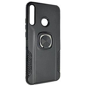 Чехол-накладка DK силикон пластик Armor Shield для Huawei P40 Lite E (black)