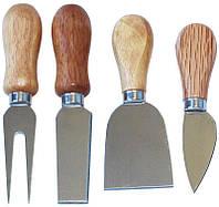 Набор 4 ножа Cheese Knife Set 13см для твердых сортов сыра