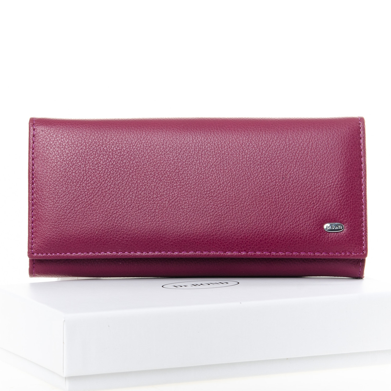 PODIUM Кошелек Classic кожа DR. BOND W501-2 purple-red