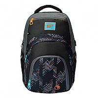 Молодежный подростковый рюкзак серый для девушек  YES T-94 bluTusa для города (558471)