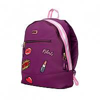 Молодежный подростковый рюкзак фиолетовый для девушек  YES T-94 Tusa в город (558469)