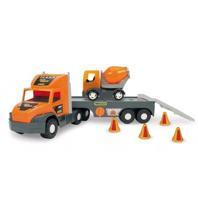 """Super Tech Truck"" з бетонозмішувачем"