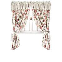 Элитные шторы  Прованс Large pink rose, 250*140 см