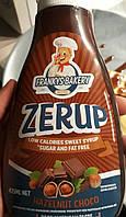 Низкокалорийный сироп (low calories syrup Zerup) 425 мл со вкусом шоколадных орехов