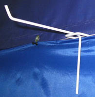 Крючки торговые на  решетку(сетку), стенды торговые длиной 120мм