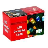 Гирлянда электр. цветная на 100 лампочек  LED 6-176 (6366)