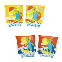 BW Нарукавники 32043 (24шт) черепаха, 23-15см, 2 цвета,