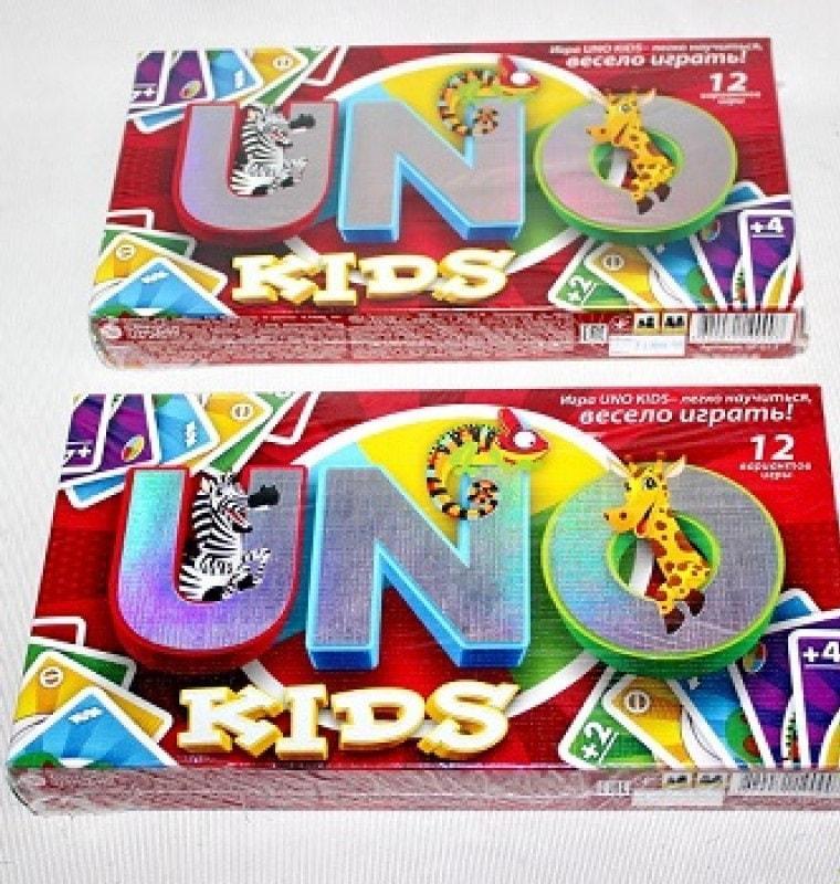 "Гра мала наст. ""UNO Kids"" (12), SP G 11"