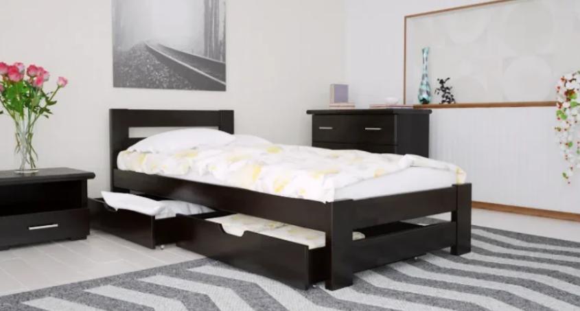 Кровать деревянная односпальная Симфония. ТМ Arbor Drev., цена 3 910 грн.,  купить в Одессе — Prom.ua (ID#1194169576)