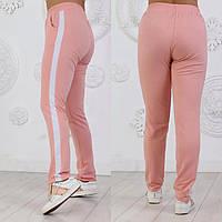 Женские,стильные  спортивные штаны с лампасом норма и батал.Новинка, фото 1