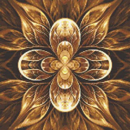 DM-326 Набор алмазной мозаики Мандала. Цветок жизни, фото 2
