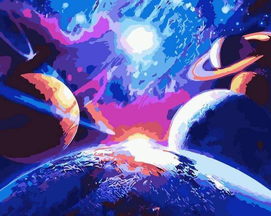 AS0103 Раскраска по номерам Бесконечная красота, В картонной коробке, фото 2