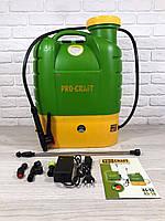 Аккумуляторный садовый опрыскиватель Procraft AS-16 Professional (16л, 12Ач.), фото 1