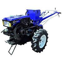 Мотоблок дизельный 10 л.с. Forte МД-101EGT синий ,без плуга (100470)