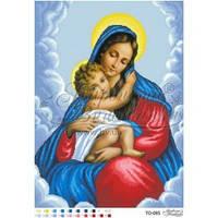 ТО-095 Марія з Дитям. Схема для вишивки бісером